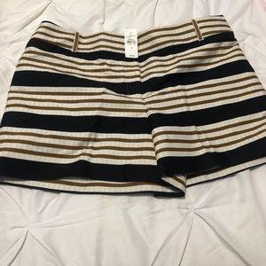 NWT Ann Taylor Loft Stripped Shorts